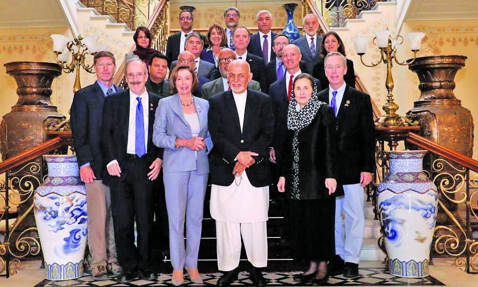 ترافیک امریکایی ها در کابل