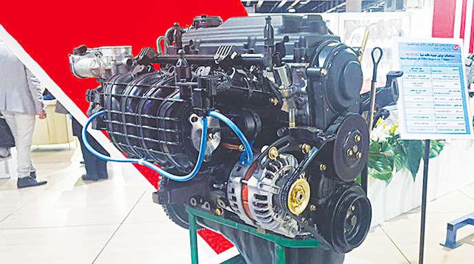ساخت 9 موتور مختلف از روی موتور تیبا