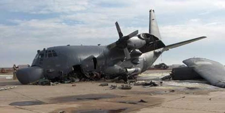 حادثه برای هواپیمای c-130 ائتلاف آمریکا هنگام فرود در پایگاه التاجی بغداد