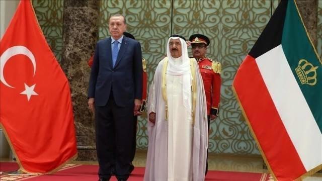 نامه امیر کویت به اردوغان