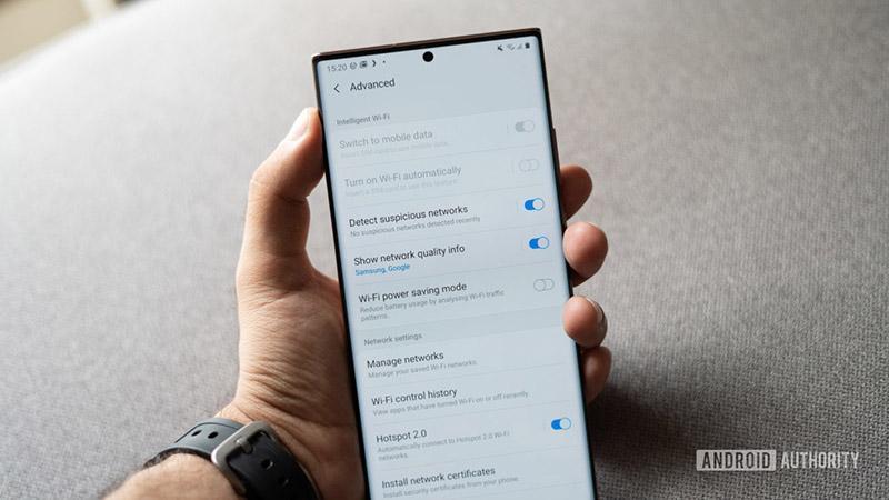 دو ویژگی وای فای جذاب و جدید در پوسته One UI 2.5 گوشی های سامسونگ